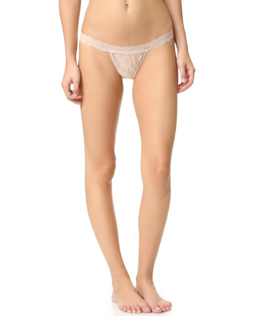 Hanky Panky | White Signature Lace G-string | Lyst