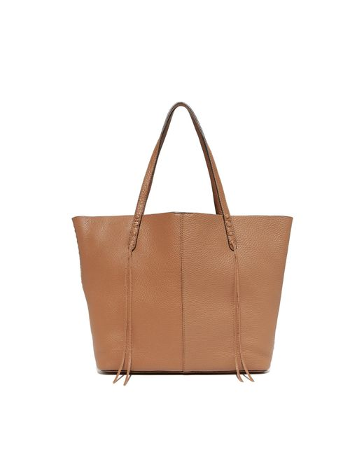 Rebecca Minkoff | Brown Medium Unlined Tote | Lyst