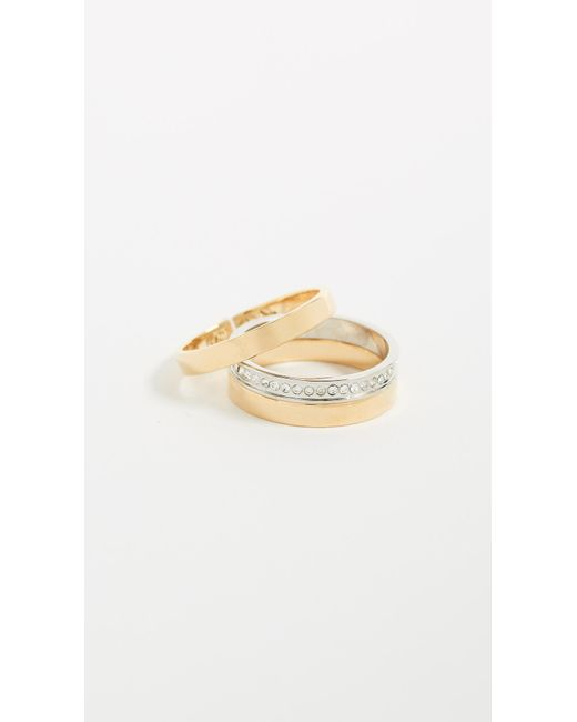 Vita Fede | Metallic Cassio Pave Ring | Lyst