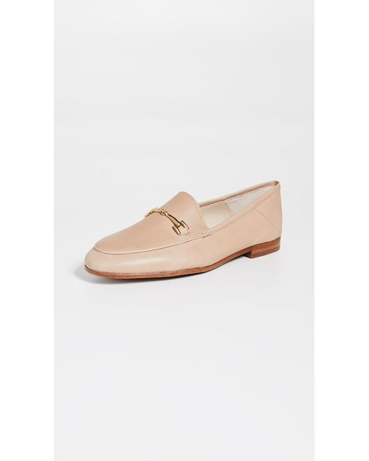 ac05588218d8 Sam Edelman Loraine Loafers in Natural - Save 28% - Lyst