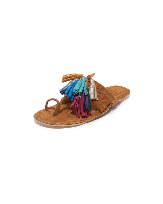 Figue - Multicolor Scaramouche Sandals - Lyst