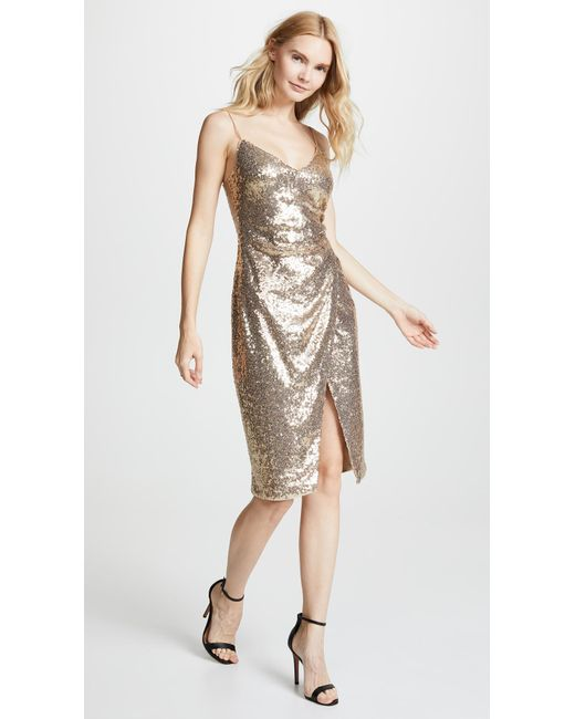Black Halo - Multicolor Bowery Sequin Sheath Dress - Lyst
