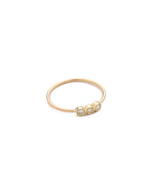 Zoe Chicco - Metallic 3 Bezel Set Ring - Lyst