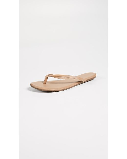 TKEES - Brown Foundations Flip Flops - Lyst