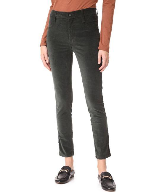 James Jeans | Multicolor Velveteen Skinny High Rise Legging Jeans | Lyst