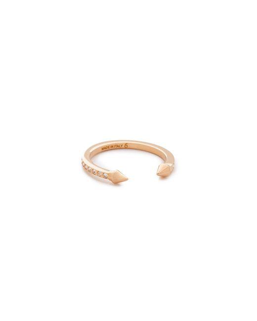Vita Fede | Metallic Super Ultra Mini Titan Crystal Ring | Lyst