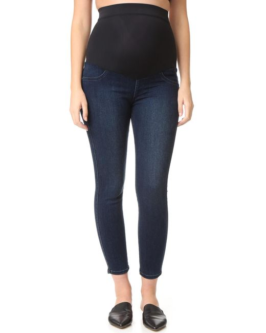 James Jeans | Blue Twiggy Ankle Maternity Legging Jeans | Lyst