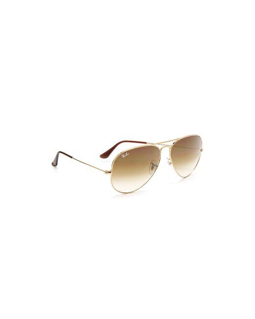 Ray-Ban - Multicolor Rb3025 Oversized Classic Aviator Gradient Sunglasses - Lyst