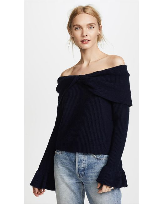 Ella Moss | Blue Jasinda Sweater | Lyst