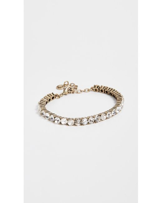 BaubleBar - Metallic Gem Bracelet - Lyst