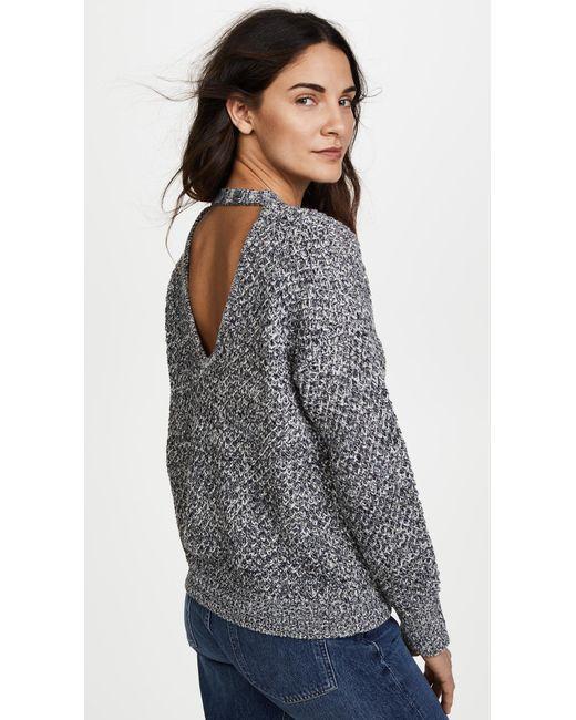 Ella Moss   Blue Delfina Sweater   Lyst