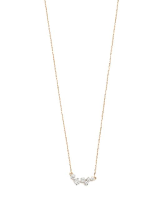 Adina Reyter - Metallic Scattered Diamond Necklace - Lyst