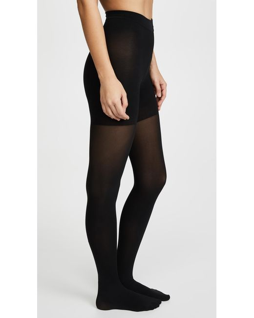 Spanx - Black Luxe Leg Tights - Lyst
