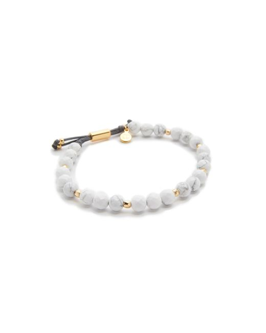 Gorjana | Metallic Power Howlite Bracelet For Calming | Lyst