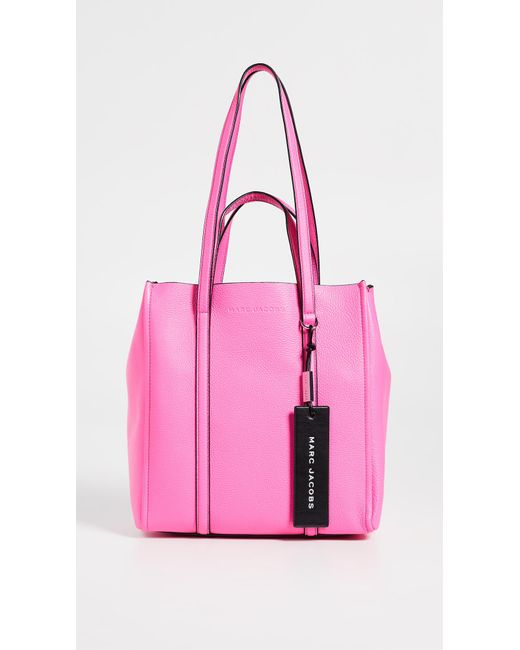 e4c24622afec Marc Jacobs - Pink The Tag Tote 27 - Lyst ...