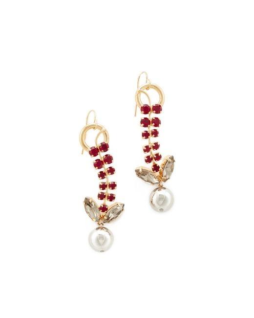 Marni | Multicolor Strass Earrings | Lyst