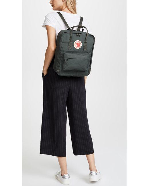 ae58295b4 Fjallraven Kanken Backpack in Green - Save 35% - Lyst