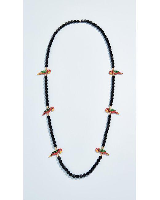 Holst + Lee - Black Birds Of Paradise Necklace - Lyst