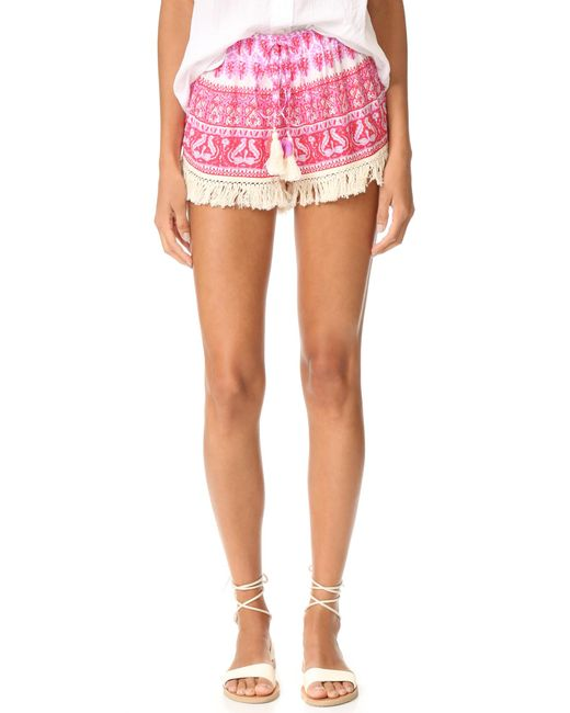 Cool Change | Multicolor Babe Shorts | Lyst