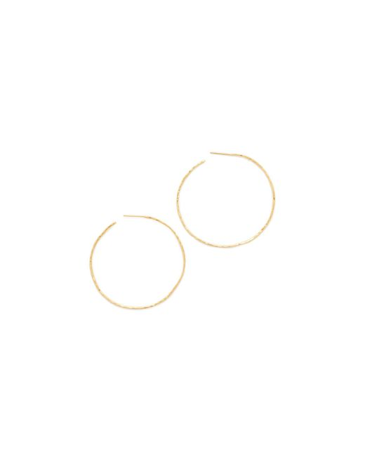 Gorjana | Metallic Harbour Hoop Earrings | Lyst