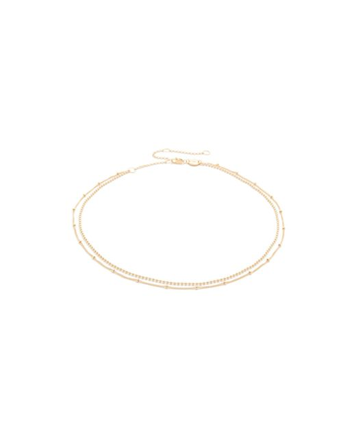 Jennifer Zeuner - Metallic Ramy Choker Necklace - Lyst