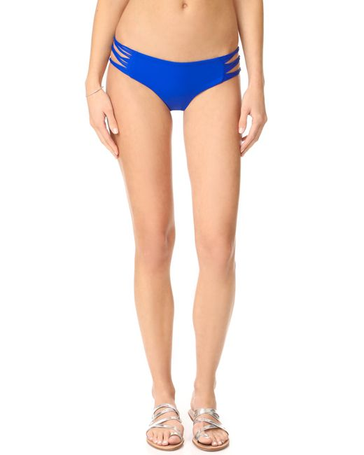 Mikoh Swimwear   Multicolor Velzyland Skinny String Loop Bottoms   Lyst