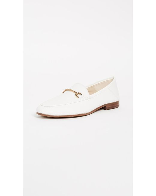 Sam Edelman - White Loraine Loafers - Lyst