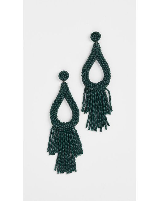 Deepa Gurnani | Green Deepa By Deepa By Gurnani Rachel Earrings | Lyst
