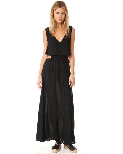 Tiare Hawaii - Black Desert Island Maxi Dress - Lyst