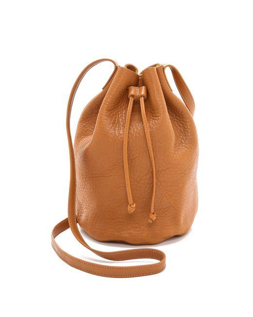 Baggu | Brown Drawstring Bucket Bag - Black | Lyst
