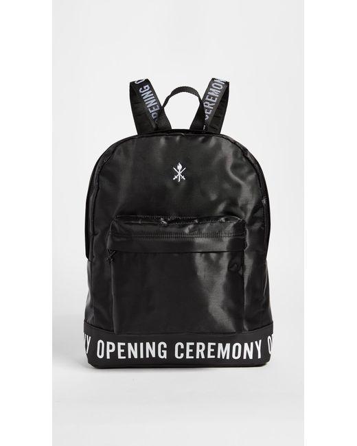 Opening Ceremony | Black Logo Backpack | Lyst