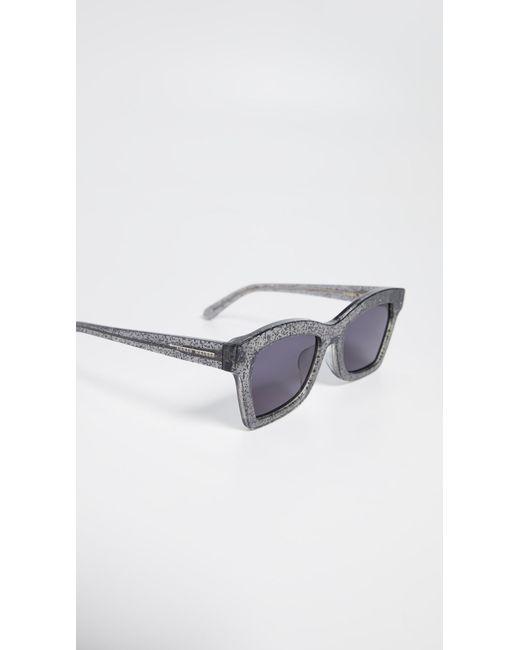 73c138ed0b7 ... Karen Walker - Multicolor Alternative Fit Blessed Sunglasses - Lyst ...