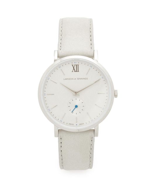 Larsson & Jennings | Metallic Lugano Ii Watch | Lyst