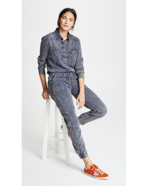 Lyst Young Fabulous Broke Everest Jumpsuit In Blue