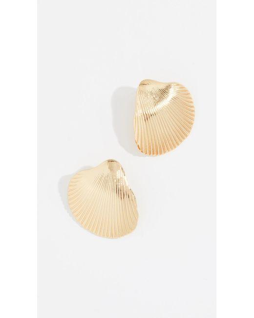 BaubleBar - Metallic Kavos Drop Earrings - Lyst