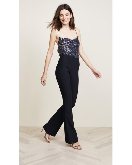a1a243ea4ff ... Haney - Blue Mia Jumpsuit - Lyst ...