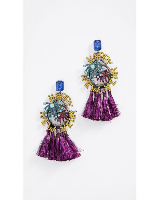 Elizabeth Cole | Multicolor New Year Earrings | Lyst