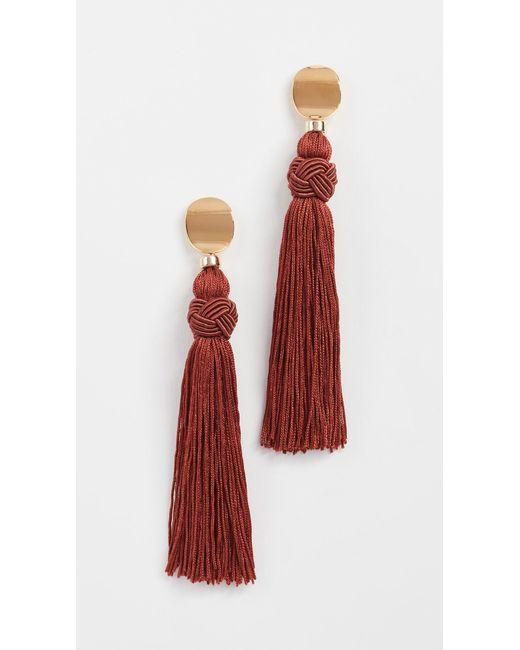 Lizzie Fortunato | Multicolor Sienna Luxe Tassel Earrings | Lyst