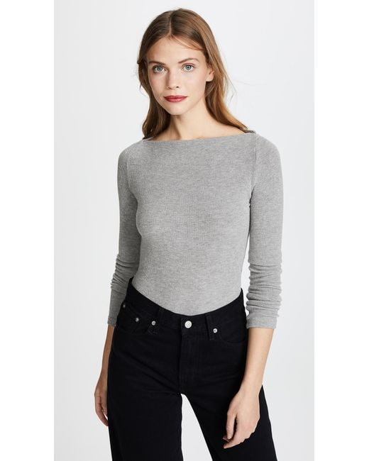 Getting Back to Square One - Gray St. Germain Top - Lyst