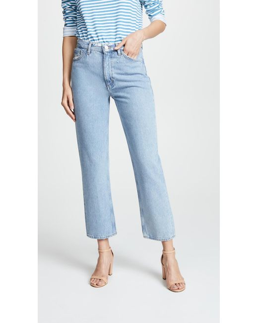 MiH Jeans - Blue The Jeanne Jeans - Lyst