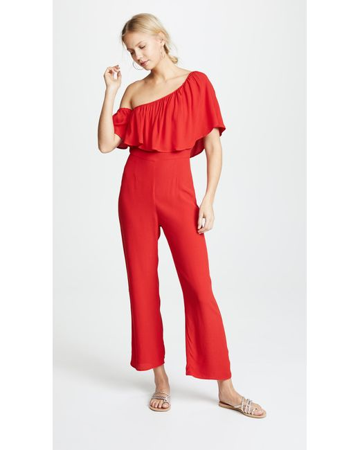 8302c1f78bb2 Flynn Skye - Red Claire Jumpsuit - Lyst ...