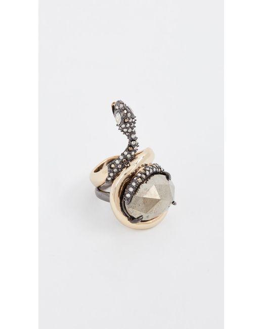 Alexis Bittar | Metallic Snake Ring | Lyst