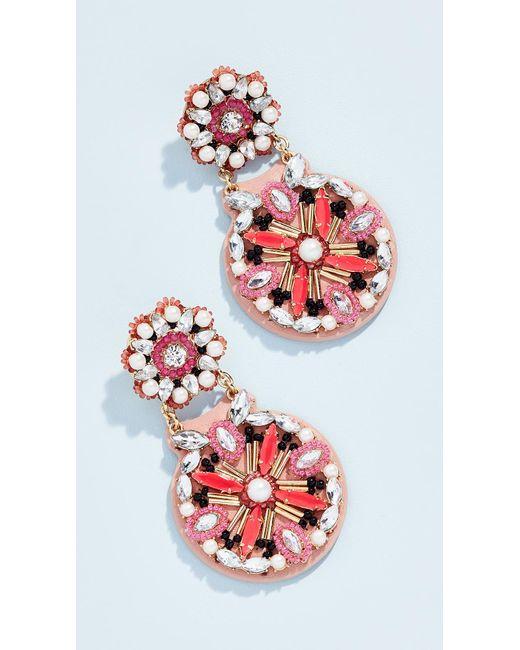 Kate Spade - Red Desert Garden Drop Earrings - Lyst