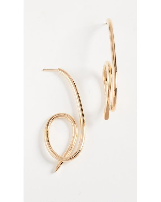 Joanna Laura Constantine | Metallic Knot Earrings | Lyst