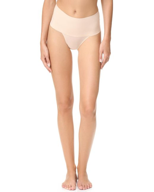 Spanx - Natural Undie -tectable Thong - Lyst