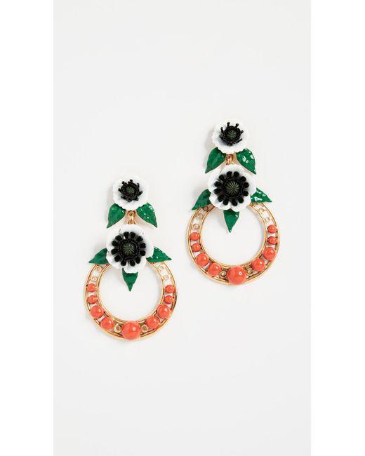 Elizabeth Cole - Multicolor Odessa Earrings - Lyst