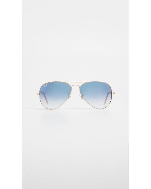 Ray-Ban - Blue Rb3025 Classic Aviator Gradient Sunglasses - Lyst