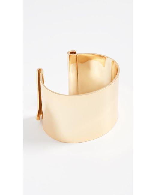 BaubleBar - Metallic Geo Metal Cuff Bracelet - Lyst