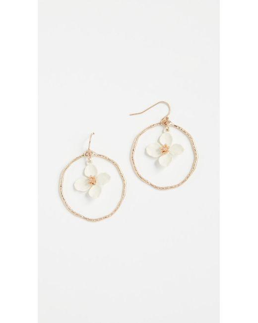 Shashi - Multicolor Irene Hoop Earrings - Lyst
