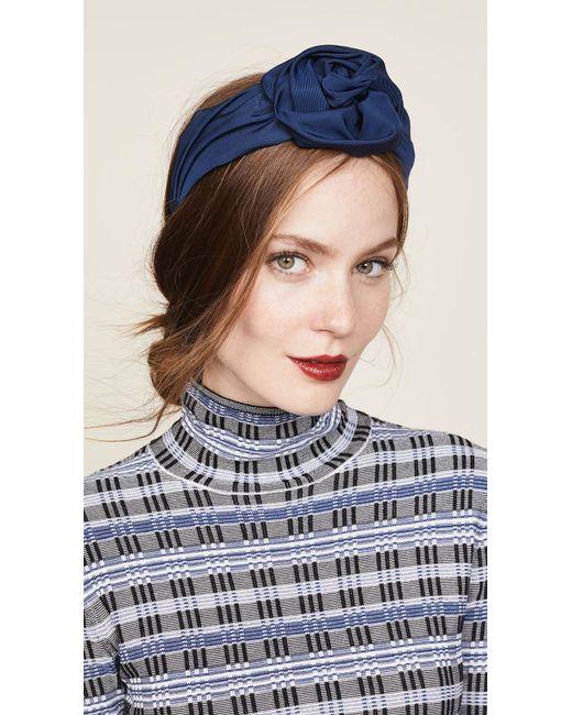 Jennifer Behr - Blue Rosamund Headband - Lyst